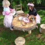 21 beste Ideen für Gartentisch und Stühle rustikal - Zaria Garden - #beste #f...