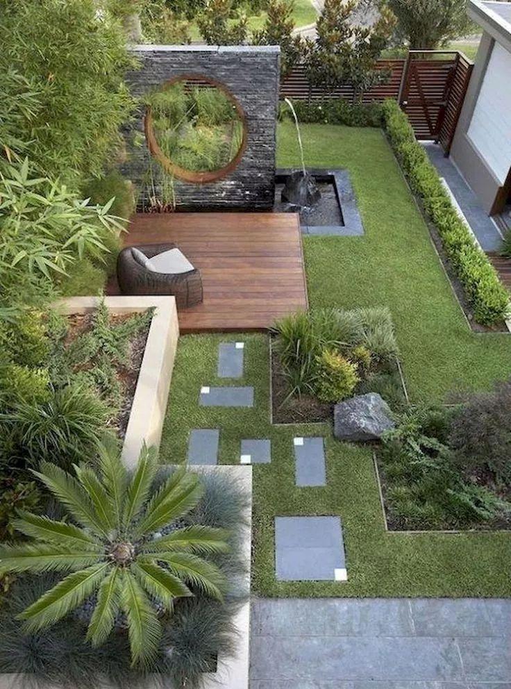 22 perfekte kleine Hinterhof & Garten-Design-Ideen  bikeboulevardstuc – Garten ideen