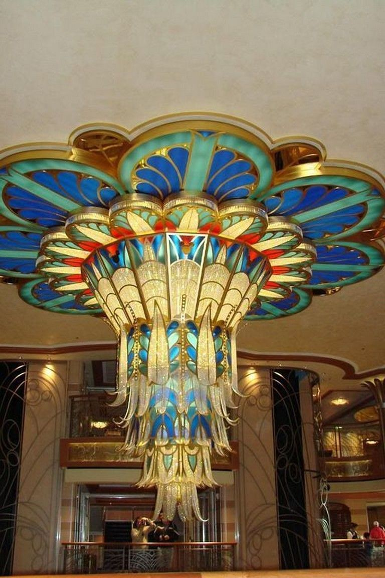 24+ Stunning Vintage Art Deco Chandelier Ideas For Your Classic Home #homedecor …