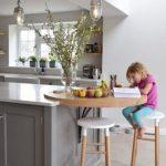 25 Frühstücksbar-Ideen für kleine Küchen - bingefashion.com/dekor
