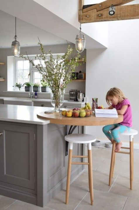 25 Frühstücksbar-Ideen für kleine Küchen – bingefashion.com/dekor