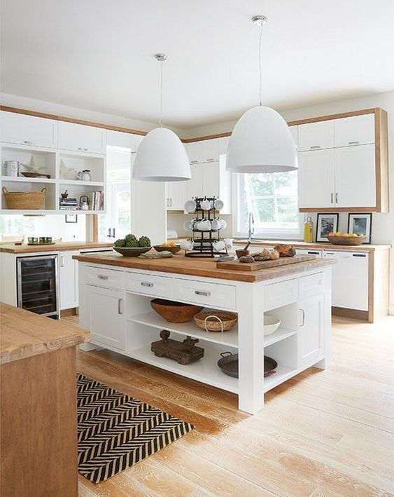 25+ Kitchen Island Ideas with Seating & Storage » Jessica Paster