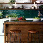 25 kontrastierende Kücheninsel-Ideen für eine Aussage #Aussage #Eine #für #ko...