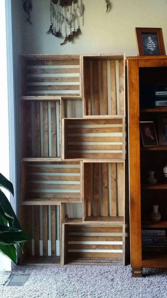 26 Ideen für ein Bücherregal, um Platz zu schaffen und Ihr Buch zu organisieren – bingefashion.com/dekor