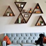 30+ Erschwingliche und einzigartige Ideen für Wohnzimmerregale,  #affordableLivingRoomFurnitu...