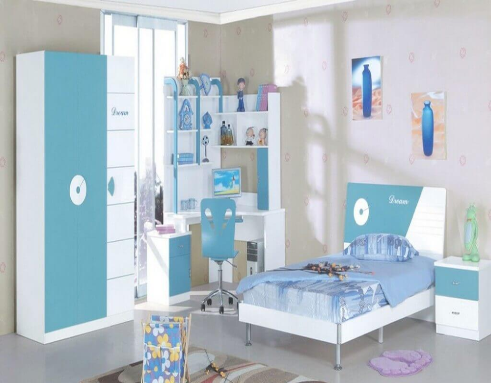 30 Latest Wardrobe Designs For Children's Room With Images – The Architecture De…