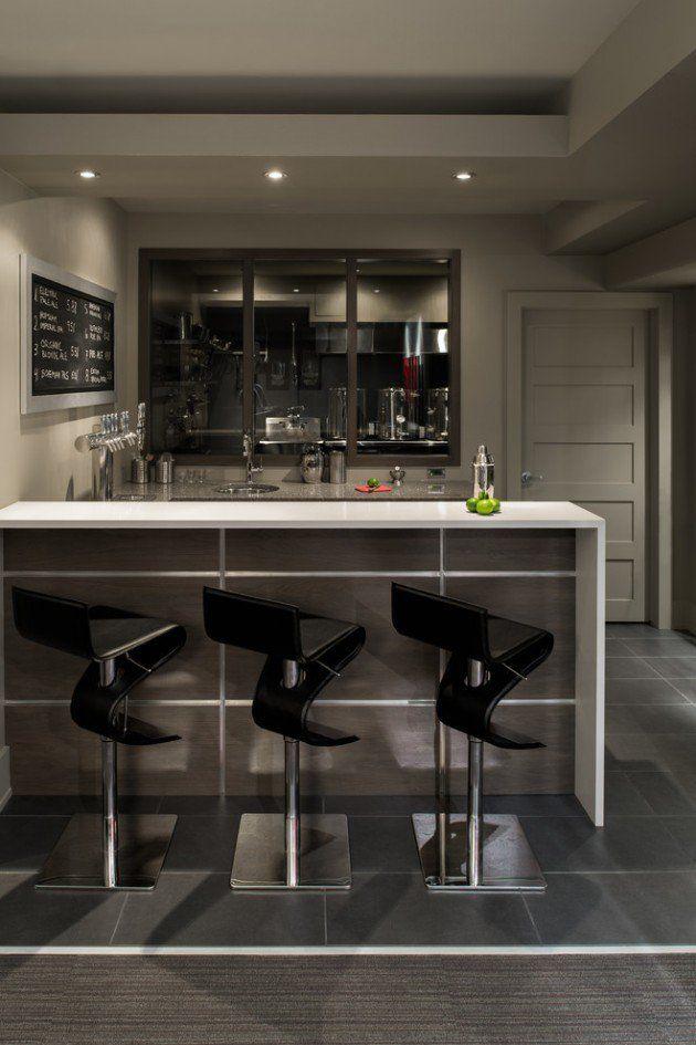 30 Stylish Contemporary Home Bar Design Ideas – Interior Vogue