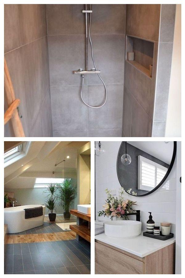30 erstaunliche kleine Badezimmer-Wandfliesen-Ideen, zum Sie anzuregen #bathroom…