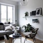 30+ klassische skandinavische graue Couch-Designs für Ihr Wohnzimmer #livingroomideas ... ,  ...