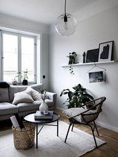 30+ klassische skandinavische graue Couch-Designs für Ihr Wohnzimmer #livingroomideas … ,  …