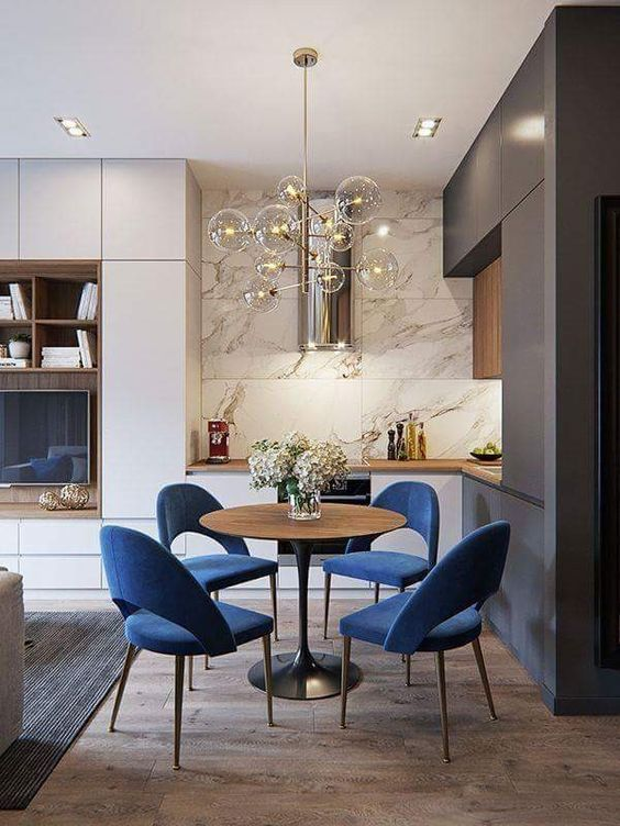 31 Dining Room Chandeliers That Will Make the Atmosphere Romantic – Pandriva