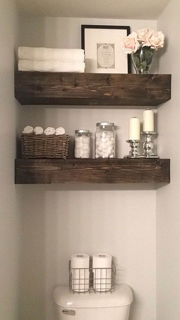 32 Farmhouse Small Bathroom Remodel and Decorating Ideas – Famous Last Words