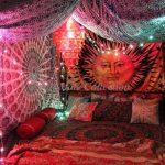 33+ schöne böhmische Schlafzimmerdekoration, die Sie inspiriert - #böhm ... - Schlafsaal