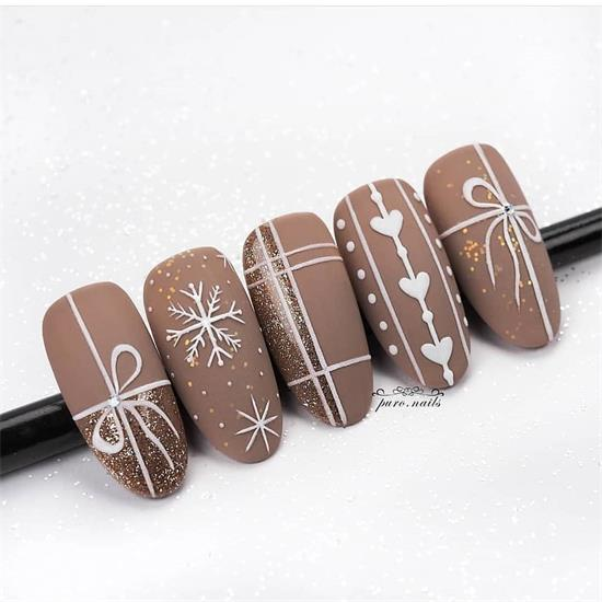 35+ Amazing Brown Nail Designs You Can Copy