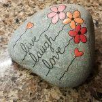 35 Wunderschöne und einzigartige Ideen für Felsmalereien. Lassen Sie uns Ihre - Painting Ideas
