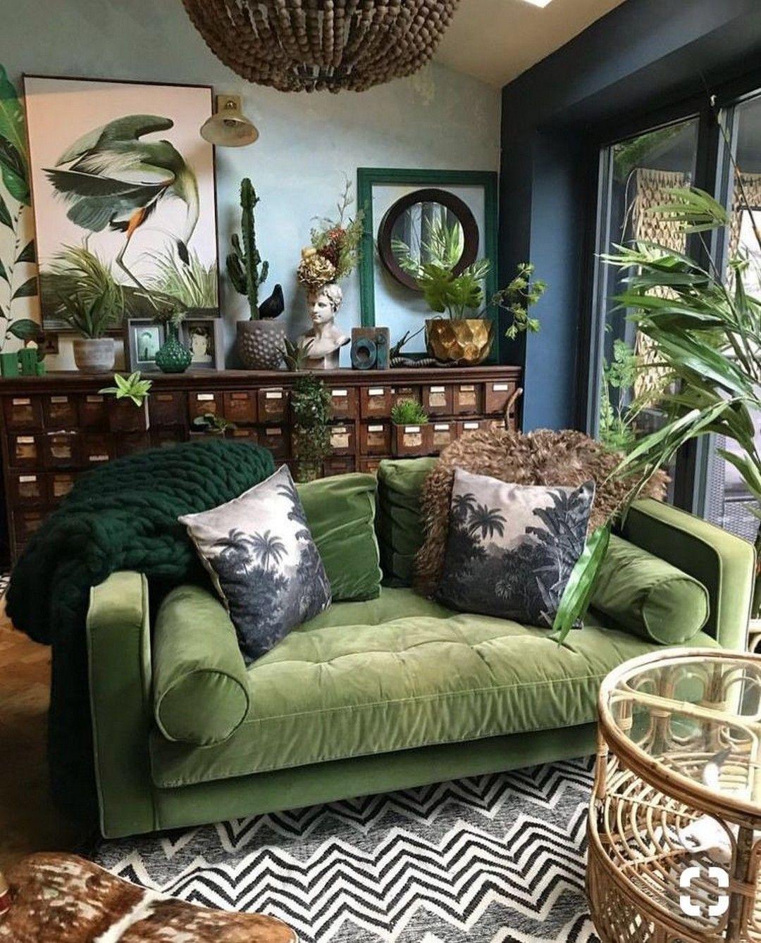 38 Grün Samt Sofa Design Ideen Makeover Ihrem Wohnzimmer – Diy Kunst