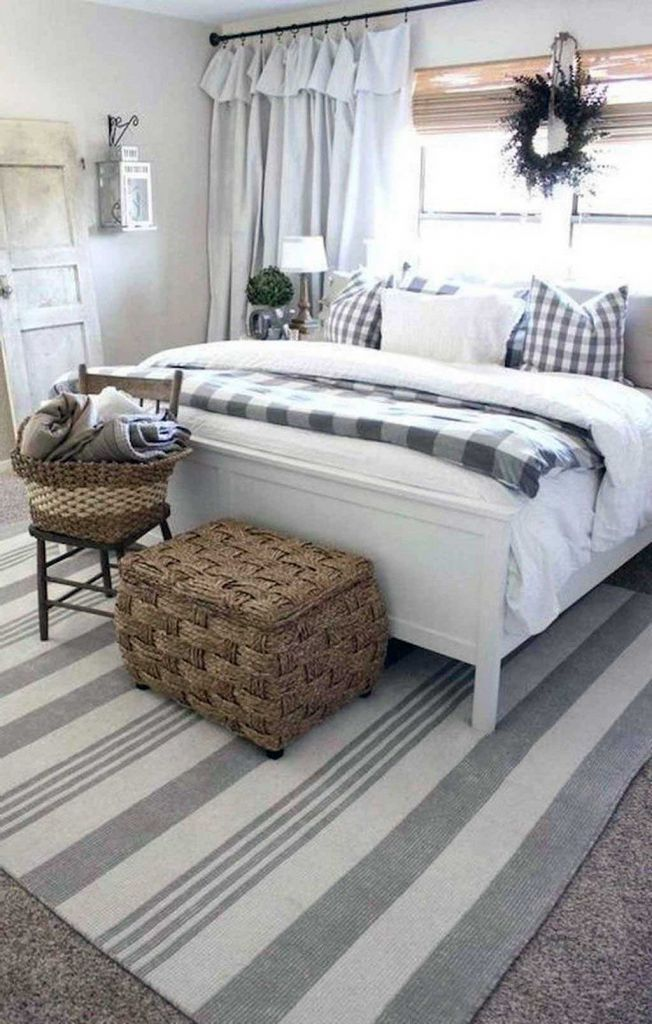 38 Incredible Farmhouse Apartment Bedroom Ideas