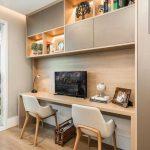 38 Stunning Small Home Office Furniture Design Ideas - myoyun.org/home