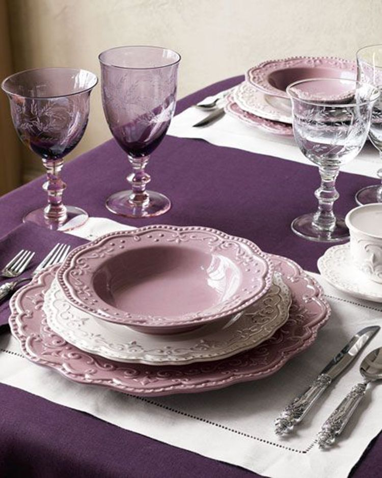40+ LavenderDining Room Sets Inspirations for Valentine Day Latest Fashion Trends for Women sumcoco.com