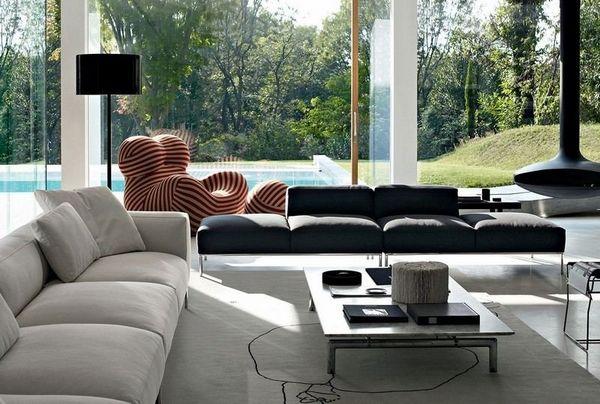 40 graue Sofaideen – ein heißer Trend für die Wohnzimmermöbel