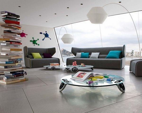 40 gray sofa ideas – a hot trend for the living room furniture :  40 gray sofa i…