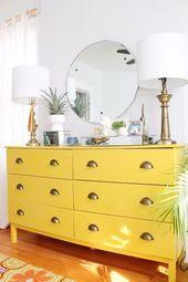 41 Cool IKEA Hacks for Your Bedroom #home #decor #furniture #design