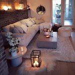 42 sehr gemütliche und praktische Deko-Ideen für kleines Wohnzimmer - bingefashion.com/dekor