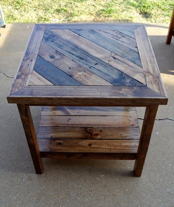 43 Ingeniously Creative DIY End Table For Your Home | Homesthetics – Inspiring ideas for your home.