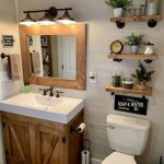 43 beautiful farmhouse bathroom decor ideas you will go crazy for 5 - worldefashion.com/decor