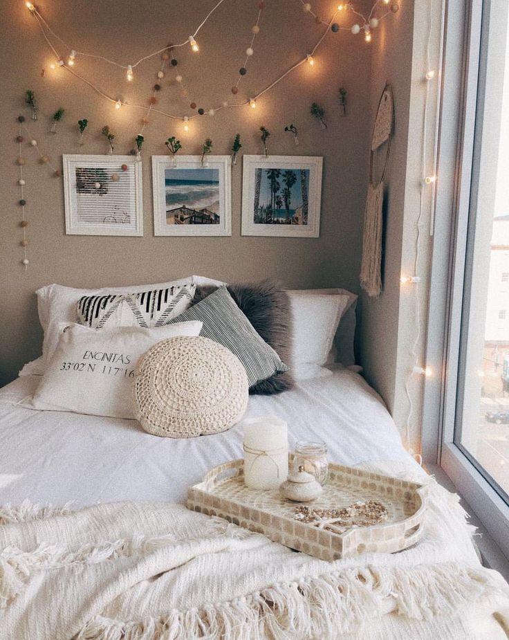 43 room ideas for teenagers with lights silahsilah.com / … #jug … – dormitor…