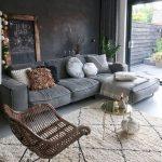44+ idées de salon avec des murs noirs - Décoration