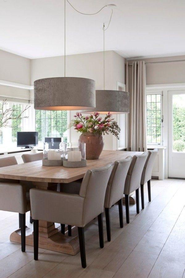 45 Esszimmer und Küchen Ideen mit industriellem Touch – bingefashion.com/dekor