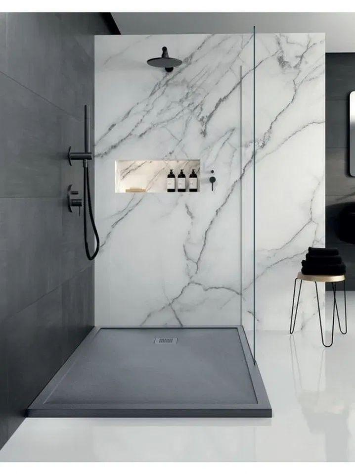 45 kleine Baddekorationstipps, wie man ein kleines Bad so aussehen lässt, dass … – Badezimmer Ideen Fliesen – Water