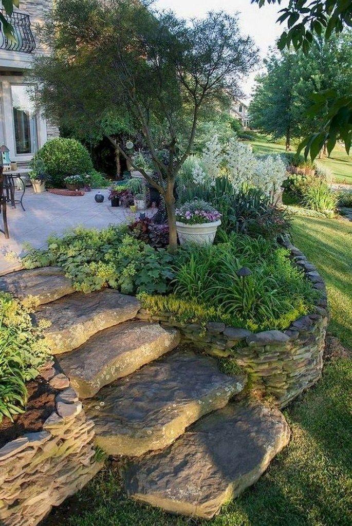 46 Schöne und frische Gartengestaltung für Hinterhof-Ideen, die Sie inspirieren #gardenid … – https://bingefashion.com/haus