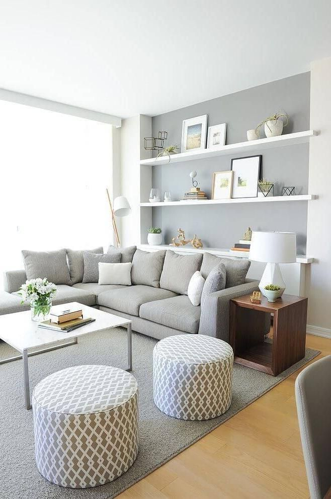50 Best Small Living Room Design Ideas For 2019 – Page 3 of 5 – InteriorSherpa