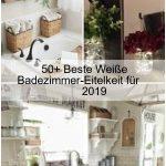 50+ Beste Weiße Badezimmer-Eitelkeit für 2019 ,  #BadezimmerEitelkeit #Beste #für #Weise