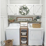 50+ Functional And Stylish Laundry Room Design Ideas To Inspire » Homedecorside...