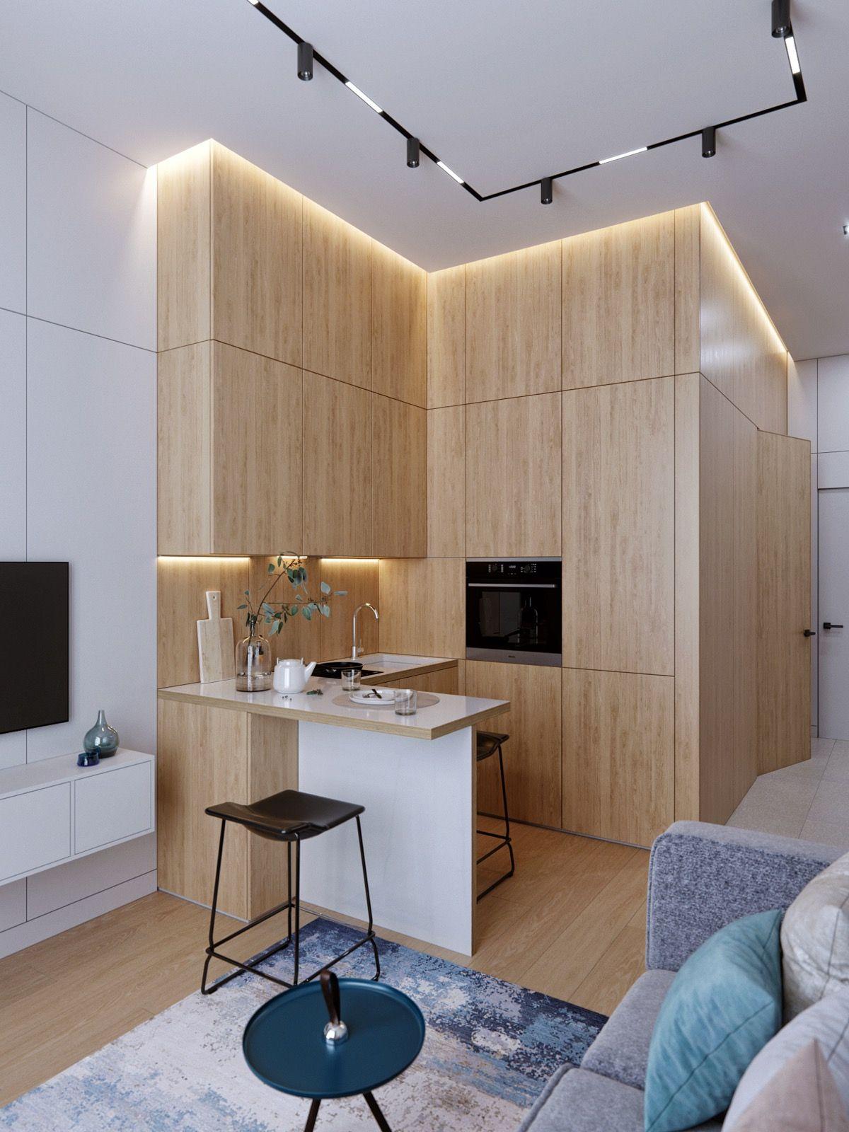 50 Lovely L-Shaped Kitchen Designs & Tips You Can Use From Them
