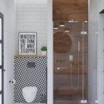 50 Stunning Small Bathroom Makeover Ideas - https://pickndecor.com/interior