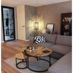 56 Small Living Room Apartment Designs to Look Amazing #livingroomdecor #livingr... - Home Design Inspiration
