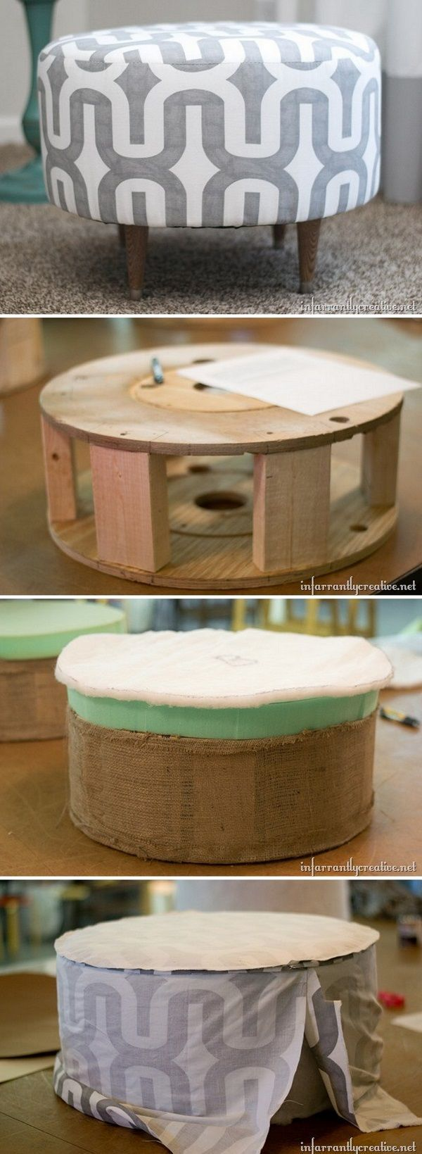 58 Easy DIY Ottoman Ideas You Can Make on a Budget