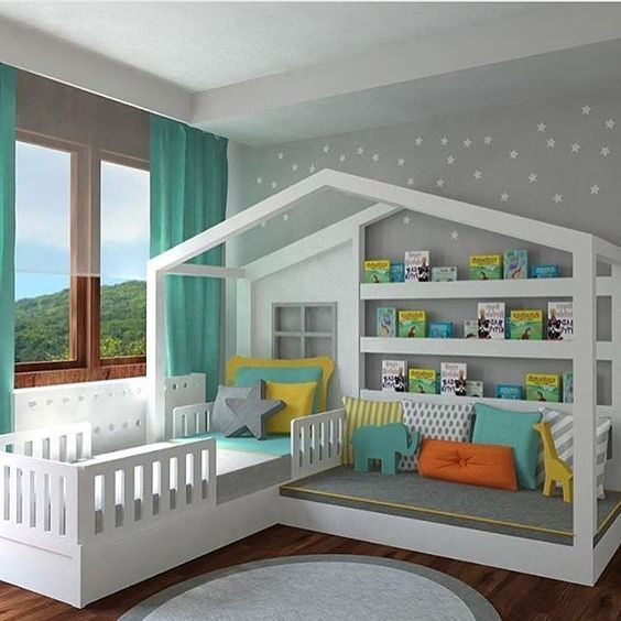 62 Most Stunning Ideas to Decorate Your Kids Room – Painting Ideas