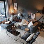62 moderne Deko-Ideen fürs Wohnzimmer - https://pickndecor.com/dekor