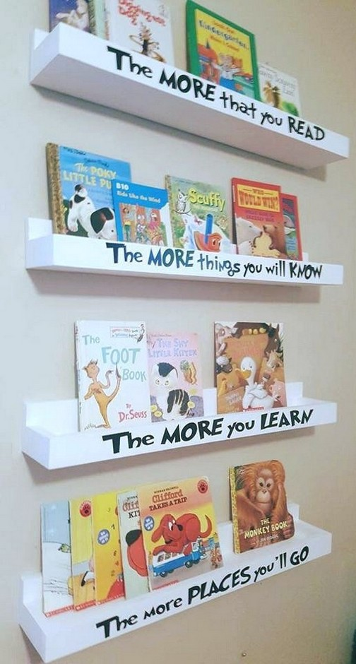 63 Best Great Kids Bookshelf DIY Ideas for Your Baby Home – Page 34 of 63 – Diaror Diary