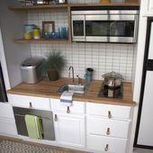63 + Marvelous Tiny Kitchen Design-Ideen für Ihr schönes kleines Haus – Seite …