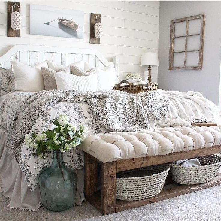 65 Charming Rustic Bedroom Ideas and Designs | Rustic Home Decor and Design Ideas.