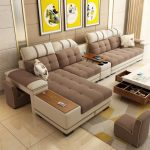 7 Seater Sectional Living Room Combination Corner sofa