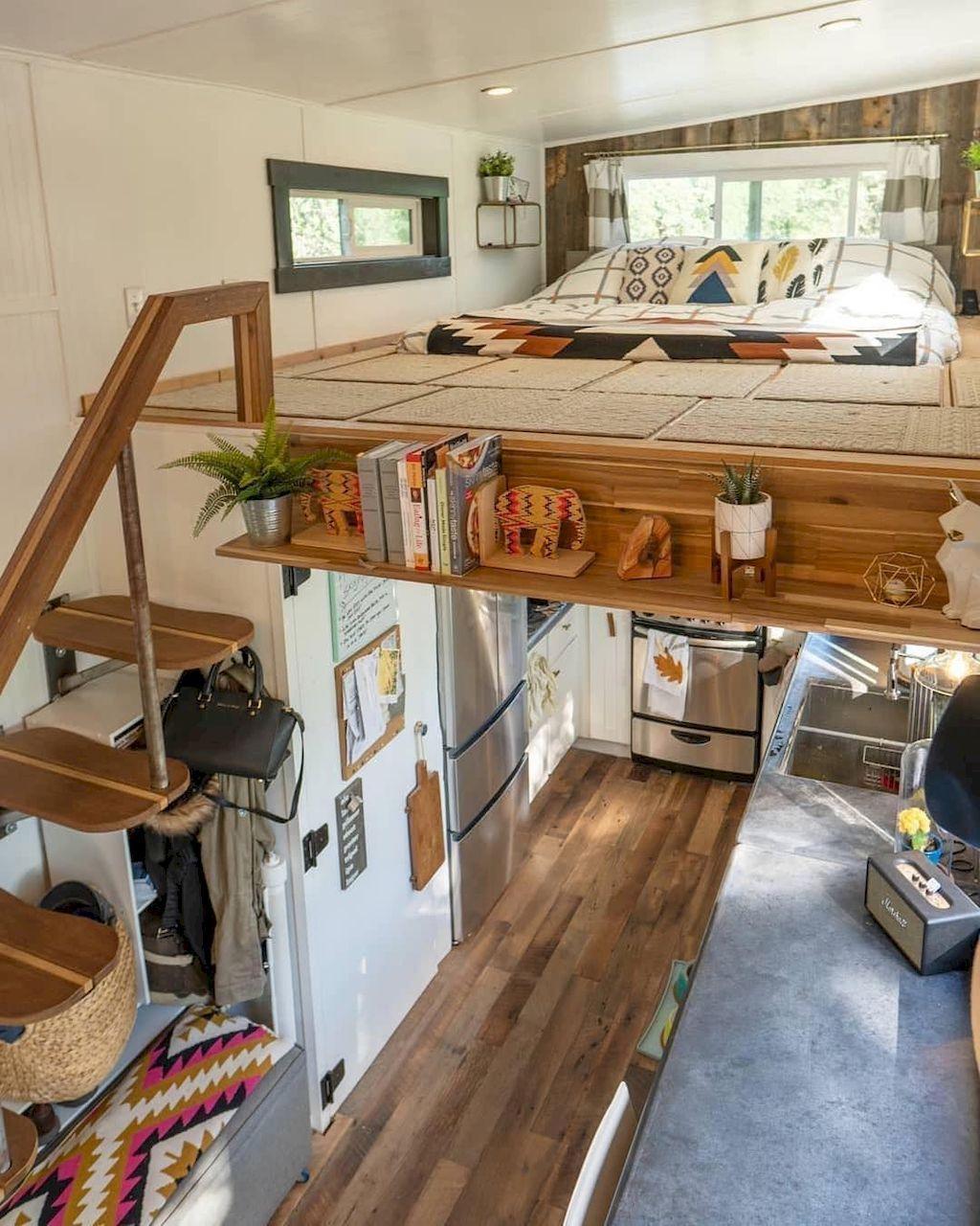 70 Clever Tiny House Interior Design Ideas – pickndecor.com/furniture