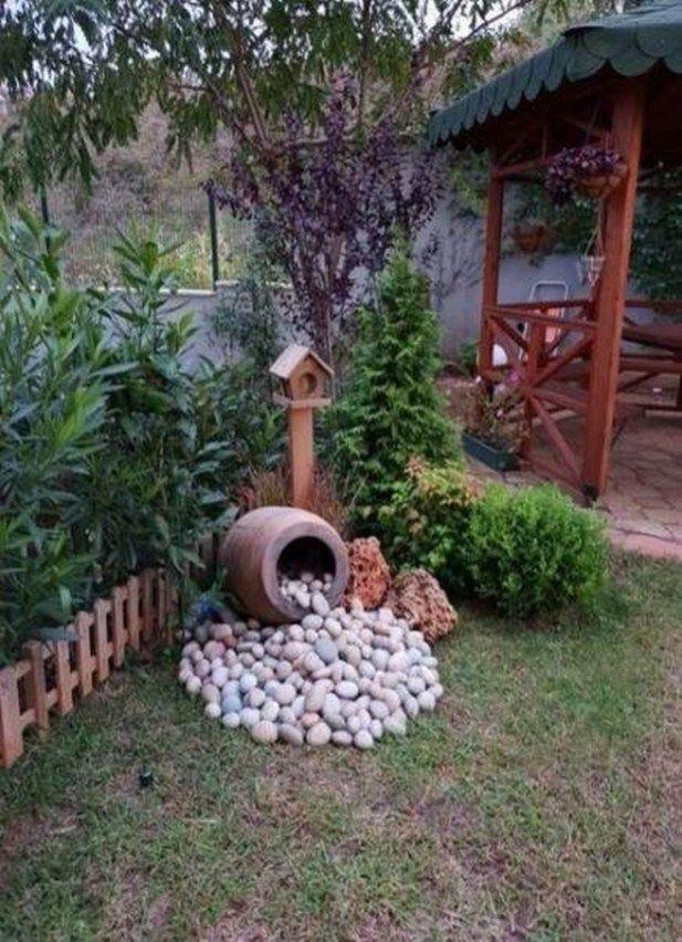 70 Simple Backyard Landscaping Ideas on a Budget 2019 #an #easy … – #Backyard …