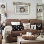 78 Comfy Farmhouse Living Room Dekorationsideen #Wohnzimmer #Wohnzimmerideen #Wo...
